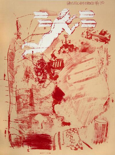Robert Rauschenberg, 'Score, Stoned Moon Series', 1969