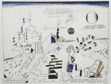Saul Steinberg, 'Bauhaus', 1966