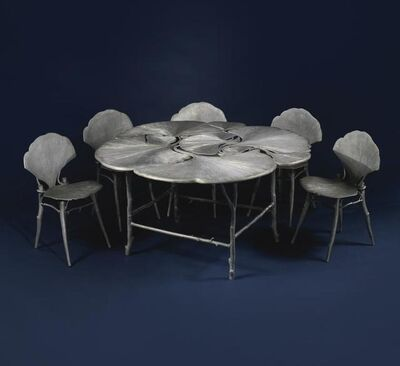 François-Xavier Lalanne, 'Ginkgo Table and Chairs', 1997-1998