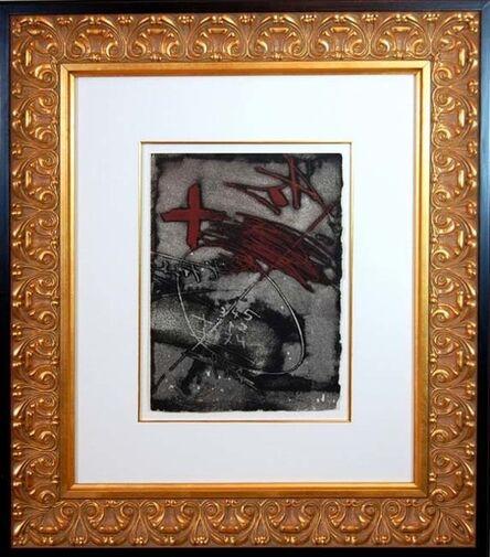 Antoni Tàpies, 'Lettre a Francoise Peyrot Sur Le Nada', 1975