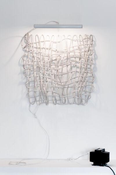 Eduardo Costa, 'Electric self-referential weave', 1983