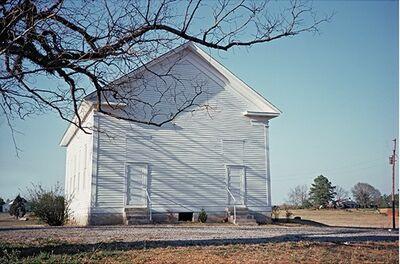 William Christenberry, 'Havana Methodist Church, Havana, Alabama', 1984