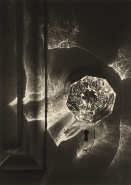 Ruth Bernhard, 'Spirit and Doorknob', 1975-printed 2004