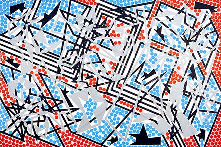 Bernard Cohen, 'Place Games III', 2011