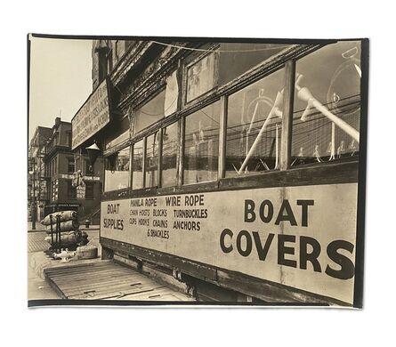 Berenice Abbott, 'Rope Store, Peerless Equipment Co.', 1938