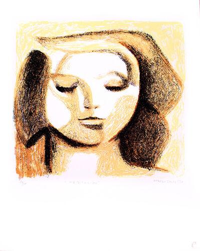 Alfredo Zalce, 'Meditación', 1990
