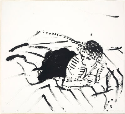 David Hockney, 'Big Celia 2', 1982