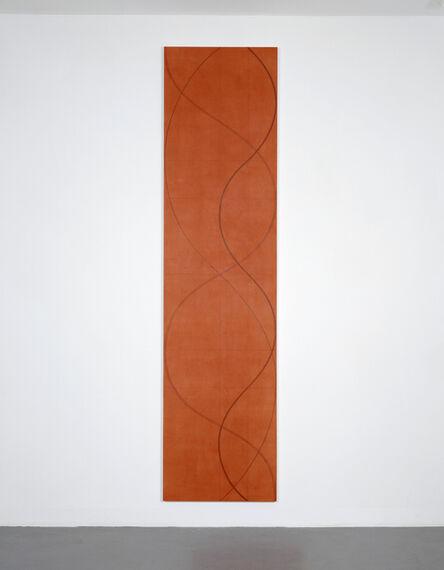 Robert Mangold (b.1937), 'Column Painting 8 (Light red)', 2003