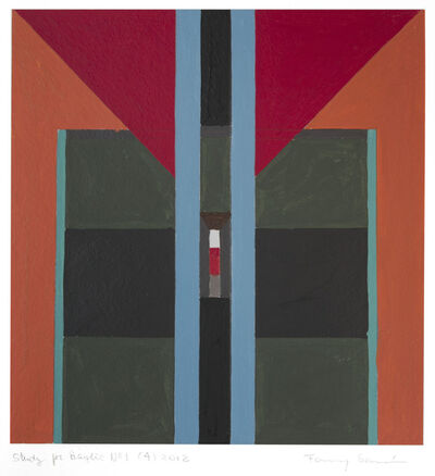 Fanny Sanin, 'Study for a Painting No. 1 (4)', 2012