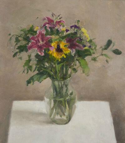 Jordan Wolfson (b.1960), 'Still Life with Sunflower III', 2015-2016