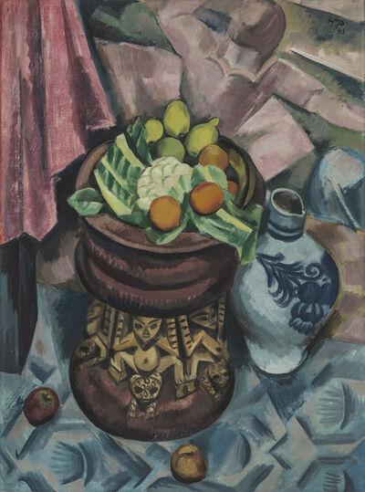 Max Pechstein, 'Still Life in Grey', 1913