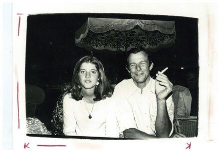 Andy Warhol, 'Andy Warhol, Photograph of Caroline Kennedy and Peter Beard circa 1975', ca. 1975