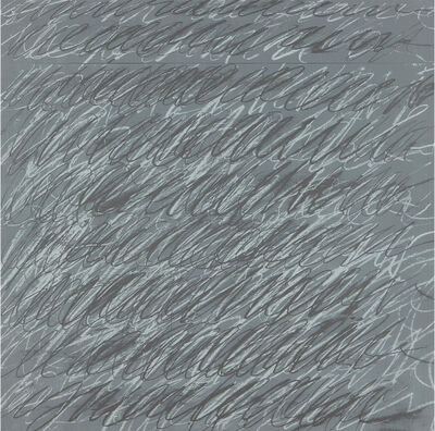 Cy Twombly, 'Untitled, from On the Bowery', 1969-1971