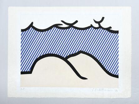 "Roy Lichtenstein, 'Illustration for ""De Denver au Montana, Départ 27 Mai 1972"" (I).', 1992"
