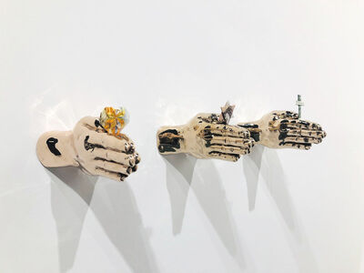 Eugenio Merino, 'In God We Trust, Everyone Else Pays Cash. Hearts ', 2020