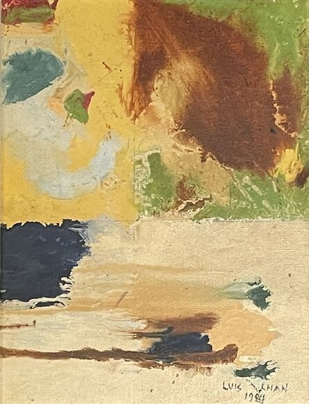 Luis Chan, 'Untitled Abstraction', 1984
