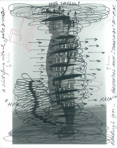 Paul Neagu, 'Horizontal Rain', 1971