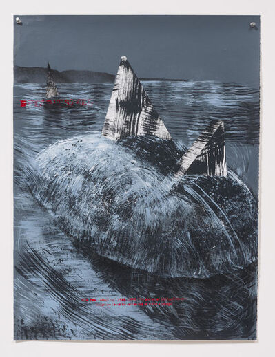 Edgar Arceneaux, 'A Four Dimensional City Casts a Two Thousand Mile Shadow. Mound Buried Wedges', 2014