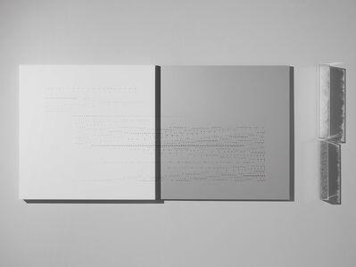 Riccardo De Marchi, 'Incompleto, capovolto', 2018