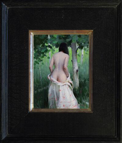 Jeremy Lipking, 'Outdoor Nude', 2017