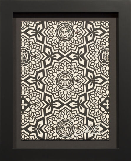 Shepard Fairey, 'YEN PATTERN (BLACK)', 2007