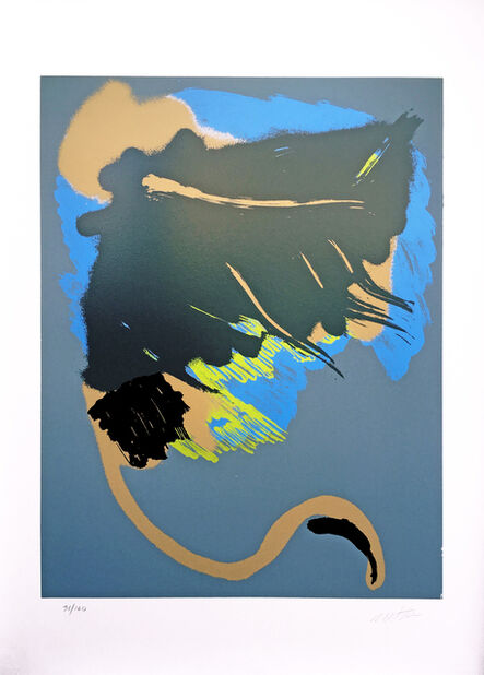 Michael Steiner (b. 1945), 'Black Lab', 1980