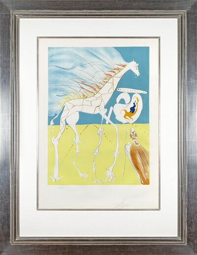 Salvador Dalí, 'Conquest of Cosmos II: Saturnian Giraffe', 1974