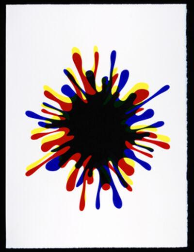 John M. Armleder, 'SBSP4 (from the portfolio Spirale Blanche)', 2008