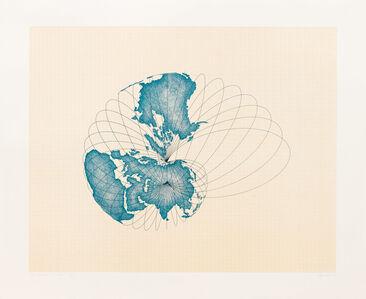Agnes Denes, 'Map Projection: The Snail', 1978