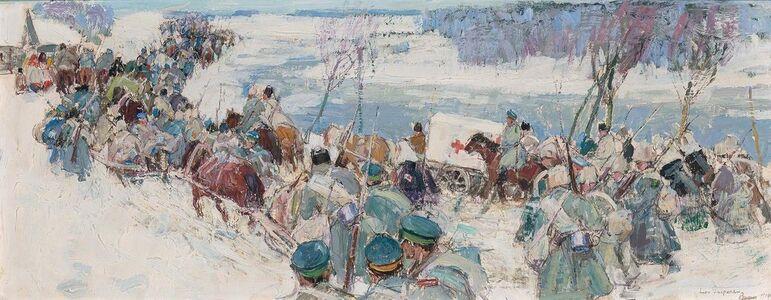Leon Gaspard, 'Troops in Winter', 1914 (16?)