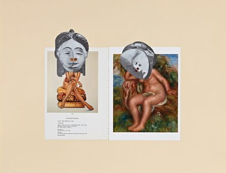 William Villalongo, '(Muses series): BLACK [title: Muses (Artifact 1)]', 2015
