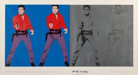 Andy Warhol, 'Elvis I and II', 1978