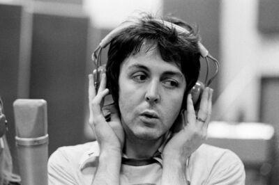 Michael Putland, 'Paul McCartney, recording in Studio, London', 1974