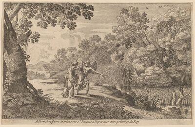 Herman van Swanevelt, 'Hagar and the Angel'