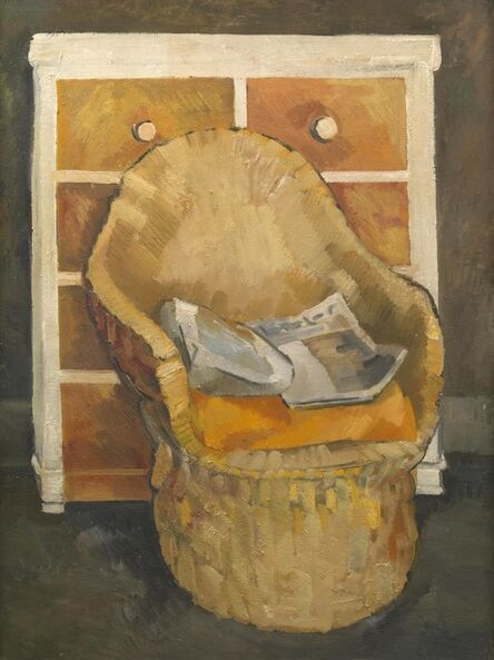 Dorothy Mead, 'The artist's chair', 1970