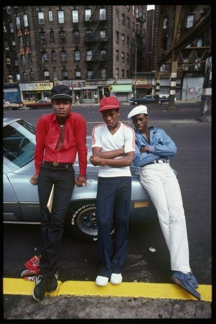 Laura Levine, 'Treacherous Three, Harlem, NY', 1981
