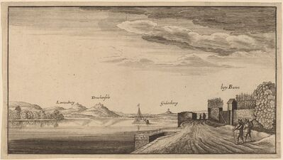 after Wenceslaus Hollar, 'View of Lewenberg'