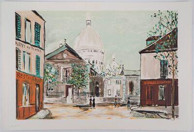 Maurice Utrillo, 'Eglise Saint-Pierre, Place du Tertre à Montmartre', 1980-1989