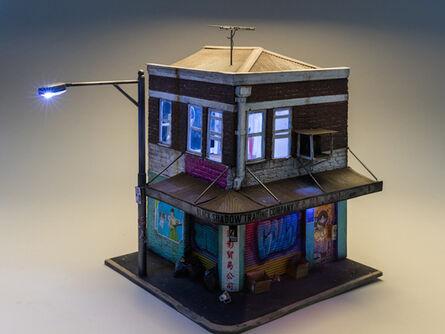 Joshua Smith, 'Black Shadow Trading Company (based on building in Haymarket, Chinatown, Sydney)', 2015