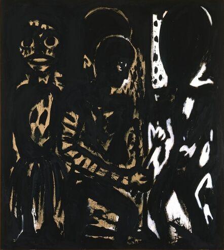 Helmut Middendorf, 'Maler', 1988