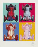 Andy Warhol, 'Mercedes-Benz Formel-1-Rennwagen W125', 2007