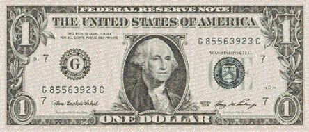 Robert Silvers, 'One Dollar Bill (large)', 2010