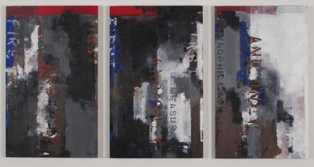 Brian Dupont, 'LOGAOEDIC TEMPLATE', 2016