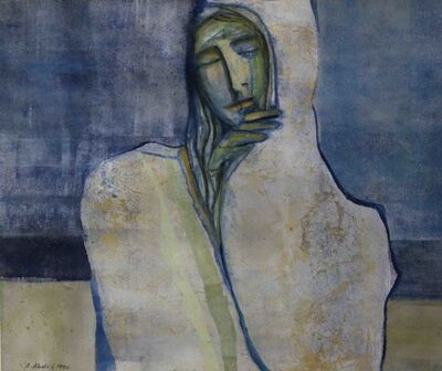 Abed Abdi, 'Covered Woman', 1990