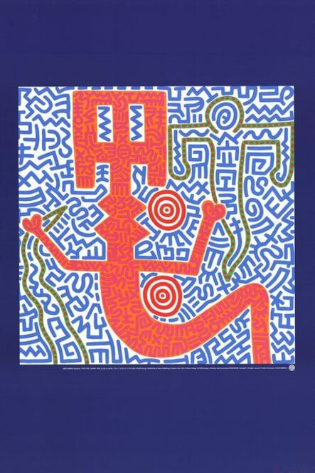 Keith Haring, 'Untitled (1984)', 1990