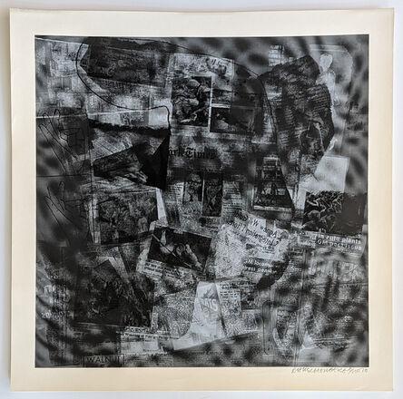 Robert Rauschenberg, 'Surface Series from Currents #41', 1970