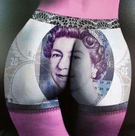 F2B Frederic de Bonnechose, 'Buttocks Queen', 2014
