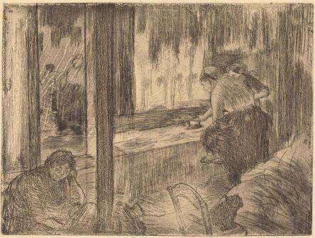 Edgar Degas, 'The Laundresses (Les blanchisseuses (La repassage))', ca. 1879