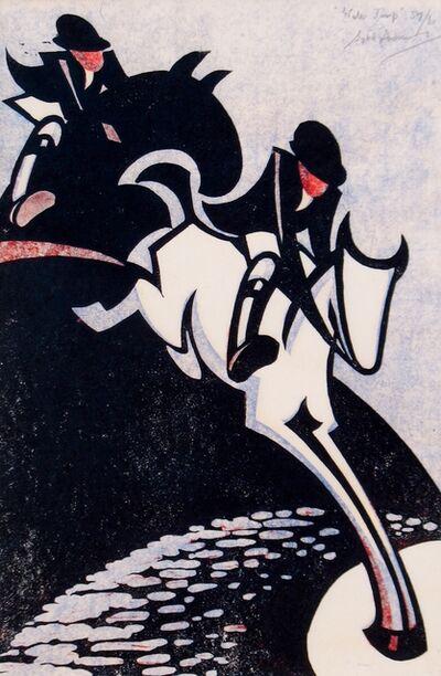 Sybil Andrews, 'Water Jump', 1931