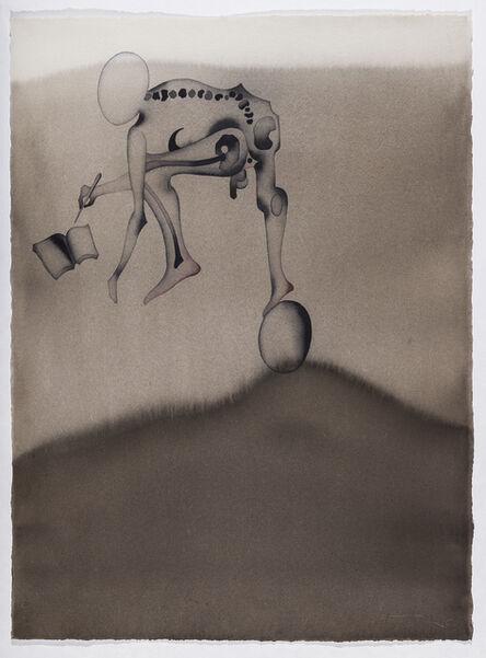 Atul Dodiya, 'Scribe on the Hill', 2013